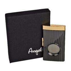 Doutníkový ořezávač Angelo s pojistkou(50040)