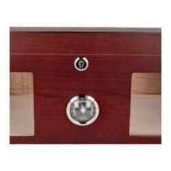 Humidor na doutníky Červenohnědý, světlý, 38x26x18cm(92006)