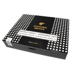 Doutníky Cohiba Behike 56, 10ks-Kubánské doutníky Cohiba Behike 56. Balené po 10 ks v dřevěné krabici. Délka: 166mm, průměr: 22,2mm. Odběr po celém balení.