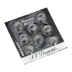 Kamínky do zapalovače S.T. DuPont Black-Originální kamínky S.T. DuPont Black do plynových kamínkových zapalovačů S.T. DuPont. Balení obsahuje 8 ks. Kamínky jsou určené pro řady zapalovačů: Ligne 1, Ligne 2, Gatsby a Urban.