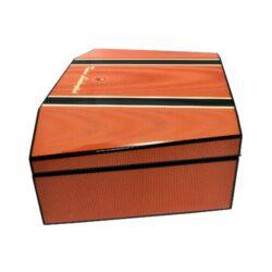 Humidor na doutníky Lamborghini Misano oranžový 35D, stolní(91804)