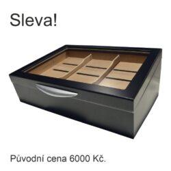 SLEVA Humidor na doutníky Gastro Bluelight(92033)