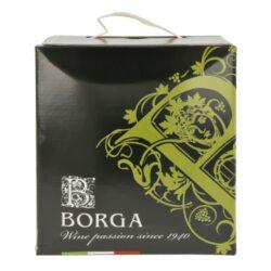 Víno Borga Chardonnay IGT 5l 12%, bílé, Bag in box(ICHAVZEB5)
