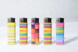 Zapalovač Prof Piezo Colors(803652)
