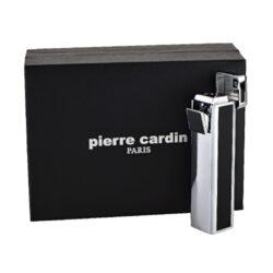 Zapalovač Pierre Cardin Rouen, černo-chromový(900020)
