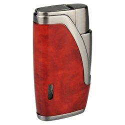 Doutníkový zapalovač Hadson Bachelor, mramor-Doutníkový zapalovač. Tryskový zapalovač na doutníky obsahuje integrovaný vyštípávač. Zapalovač je plnitelný. Doutníkový zapalovač je dodáván v dárkové krabičce. Výška 6,5cm.