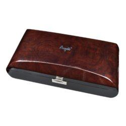 Humidor na doutníky Angelo Real Wood 50D, stolní, zaoblený(920700)