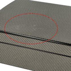 Doutníkový Humidor Set Carbon 25D, stolní(569171)