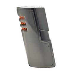 Doutníkový zapalovač Winjet Fortuna, gunmetal-Doutníkový zapalovač. Tryskový zapalovač na doutníky má integrovaný vyštípávač. Zapalovač je plnitelný. Doutníkový zapalovač je dodáván v dárkové krabičce. Výška 7,5cm.
