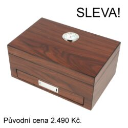 Doutníkový Humidor Set Angelo Browngloss(920750)