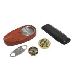 Doutníkový Humidor Set hnědý(569123)