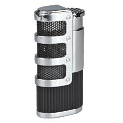 Doutníkový zapalovač Winjet Malmö-Doutníkový zapalovač. Tryskový zapalovač na doutníky má integrovaný vyštípávač. Zapalovač je plnitelný. Doutníkový zapalovač je dodáván v dárkové krabičce. Výška 7cm.