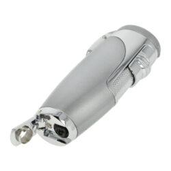 Sada pro kuřáky doutníků Sky, zapalovač, vyštípávač, stříbrná(238351)