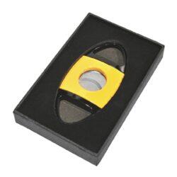 Doutníkový ořezávač Passatore, žlutočerný(591683)