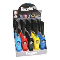 Domácnostní zapalovač Eurojet FireMan-Piezoelektrický zapalovač plynového sporáku Eurojet. Plynový domácnostní zapalovač je vhodný nejen k zapálení sporáku, ale i k zapálení krbů, grilů nebo svíček. Ve spodní části najdeme plnící ventil plynu, na horní straně regulaci intenzity plamene a dětskou pojistku. Cena je uvedena za 1ks.