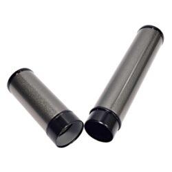 Pouzdro na 1 doutník Angelo, stříbrné, 180mm(811060)