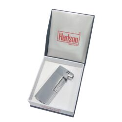 Dýmkový zapalovač Hadson Kansas Pipe, stříbrný(10336)