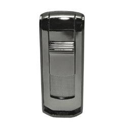 Tryskový zapalovač Winjet Lyss, gunmetal-Tryskový zapalovač. Zapalovač je plnitelný. Výška 7,5cm. Tryskový zapalovač je dodáván v dárkové krabičce.