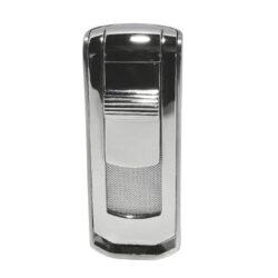 Tryskový zapalovač Winjet Lyss, stříbrný-Tryskový zapalovač. Zapalovač je plnitelný. Výška 7,5cm. Tryskový zapalovač je dodáván v dárkové krabičce.