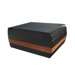 Humidor na doutníky Hadson Carbon 50D, stolní(10160)