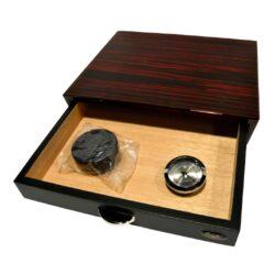 Humidor na doutníky Angelo Drawer 10D, stolní, žíhaný(920016)