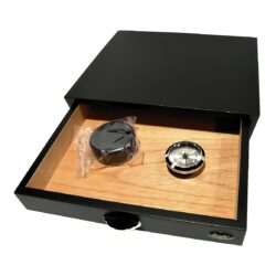 Humidor na doutníky Angelo Drawer Black  (920017)