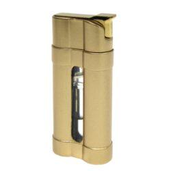 Zapalovač Eurojet Luciano, zlatý(250703)