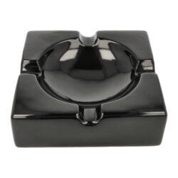 Doutníkový popelník keramický Angelo, černozlatý(424002)