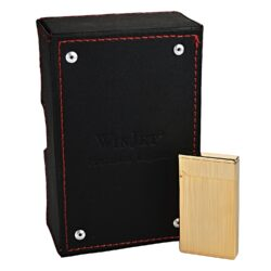 Zapalovač Winjet Premium, zlatý(310002)