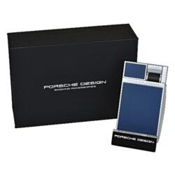 Tryskový zapalovač Porsche Design P3632, modrý(684242)