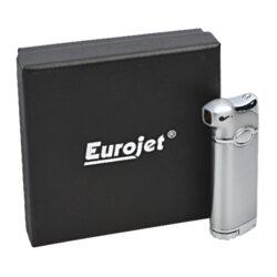 Dýmkový zapalovač Eurojet Leeds, chrom(257170)