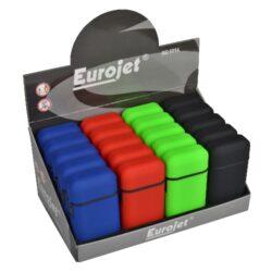 Tryskový zapalovač Eurojet Rubber Colored(26001)