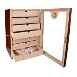 Humidor na doutníky Cabinet třešeň 150D, stolní(564311)