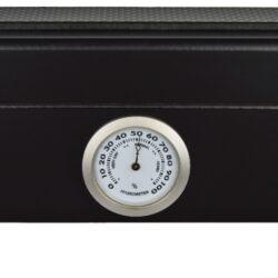 Humidor na doutníky Angelo černý matný prosklený 25D, stolní(920032)
