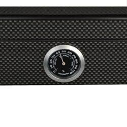 Humidor na doutníky Angelo carbon prosklený 25D, stolní(920033)