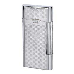 Zapalovač Pierre Cardin Classic, chromový kostky-Kovový zapalovač Pierre Cardin s kamínkovým zapalováním. Zapalovač je plnitelný. Součastí balení jsou tři náhradní kamínky. Výška zapalovače 7cm.