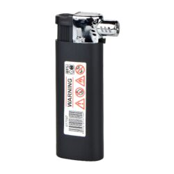 Dýmkový zapalovač Cool Pipe black&silver(017597)