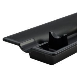 Doutníkový popelník Angelo 1D, černý(421005)