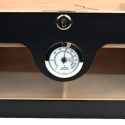 Humidor na doutníky černý matný 75D, stolní(563153)