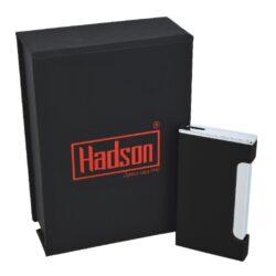 Tryskový zapalovač Hadson Lucca, černý(10225)