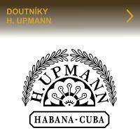 Kvalitní kubánské doutníky H. Upmann. Výborné doutníky H. Upmann jsou precizně vyráběné z kvalitních kubánských tabáků. Doutníky se vyznačují jemnou až středně silnou chutí a jsou v různých formátech. Zkuste příjemnou chuť doutníků H. Upmann.