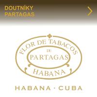 Oblíbené kubánské doutníky Partagas. Kvalitou vynikající známá značka Partagas nabízí velký výběr ručně nebo strojově balených kubánských doutníků v různých formátech. Doutníky Partagas jsou především oblíbené díky své plné zemité chuti.