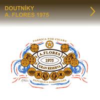 Kvalitní doutníky A.Flores 1975 z dominikánské republiky. Precizně vyráběné doutníky předním výrobcem PDR Cigars Factory založenou Abe Floresem. Díky zkušenostem A. Florese vznikly špičkové dominikánské doutníky s výbornou chutí a bohatým kouřem.