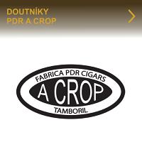 Dominikánské doutníky PDR A Crop. Precizně ručně balené doutníky z dominikánské republiky z kvalitních dominikánských a nikaragujských tabákových listů. Charakteristické pro doutníky PDR A Crop je bohatý kouř a středně silná zemitá chuť.