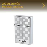 Kvalitní kovové kamínkové nebo piezoelektrické zapalovače Pierre Cardin známé francouzské značky. Elegantní tryskové zapalovače pro kuřáky doutníků nebo dýmkové zapalovače pro vyznavače dýmek, to je značka Pierre Cardin.