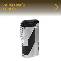 Kvalitní doutníkové zapalovače Eurojet elegantních designů. Tryskové zapalovače se zabudovaným vyštípávačem - každodenní pomocník kuřáka doutníků. V nabídce také zapalovače s normálním plamenem, žhavící zapalovače nebo dýmkové zapalovače.